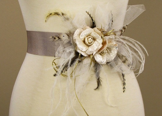 fall winter wedding ideas handmade velvet treasures from Etsy statement sash