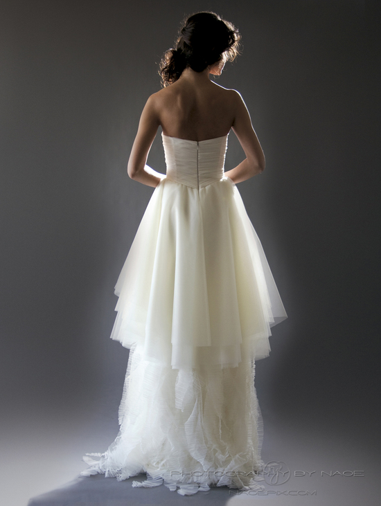 wedding dress spring 2013 bridal gown cocoe voci 1 back