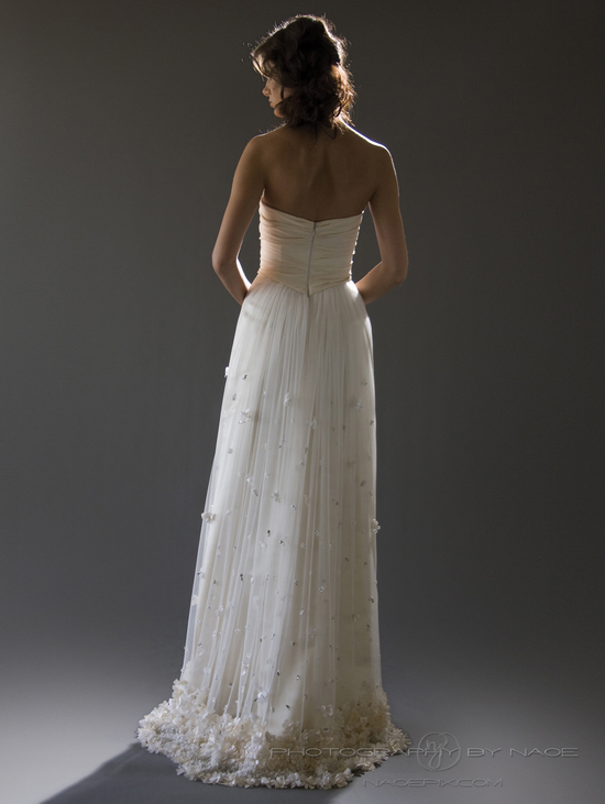 wedding dress spring 2013 bridal gown cocoe voci 2 back