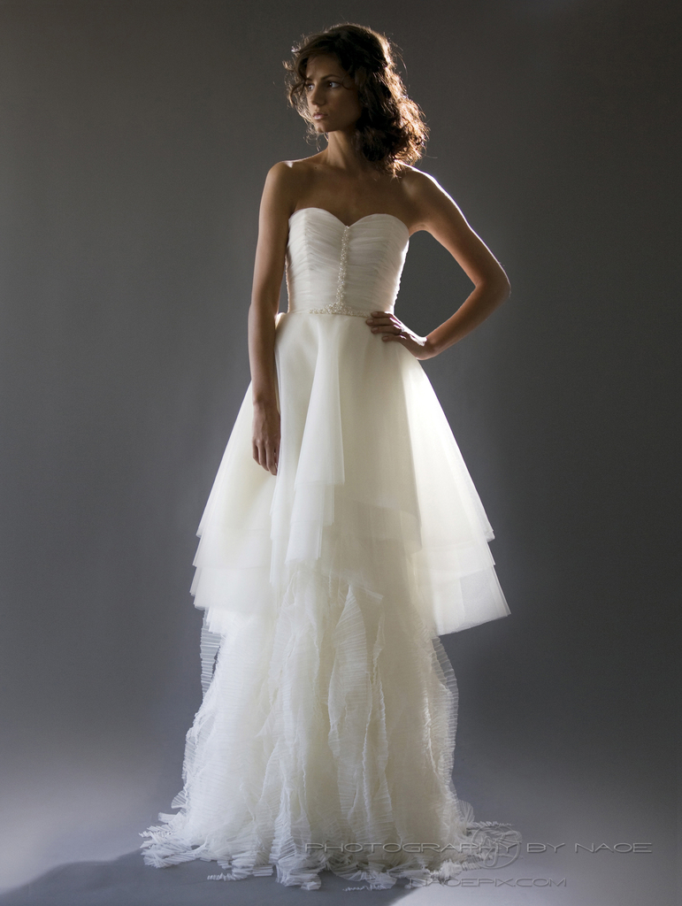photo of wedding dress spring 2013 bridal gown cocoe voci 1 back