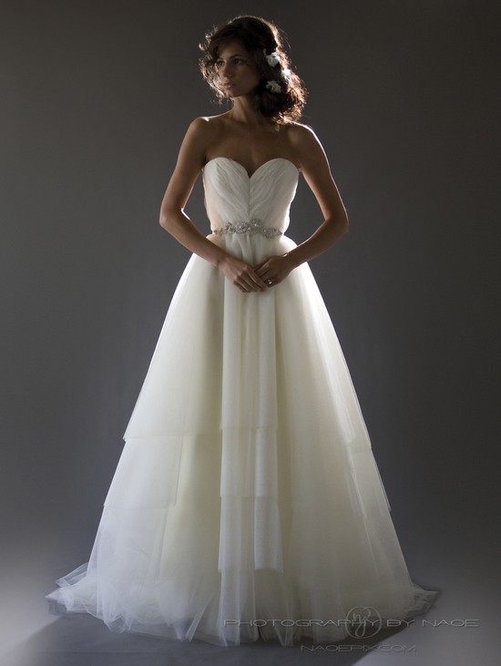 wedding dress spring 2013 bridal gown cocoe voci 3 back