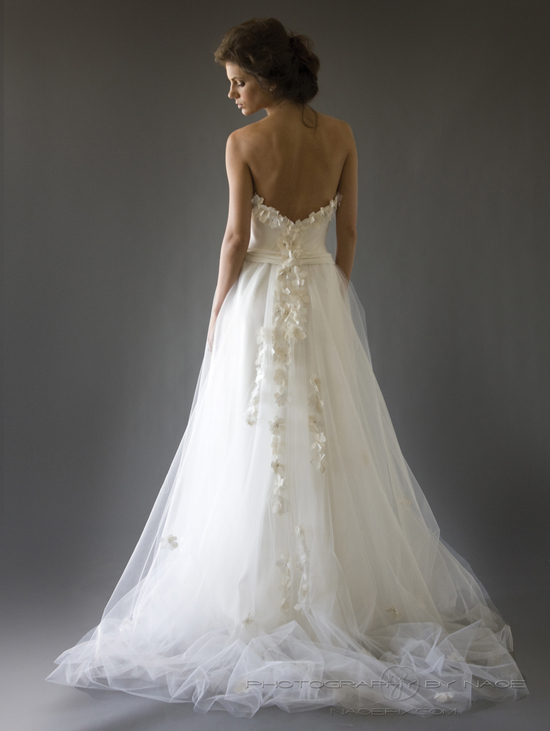 wedding dress spring 2013 bridal gown cocoe voci 4 back