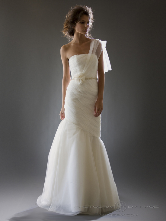 wedding dress spring 2013 bridal gown cocoe voci 6 back