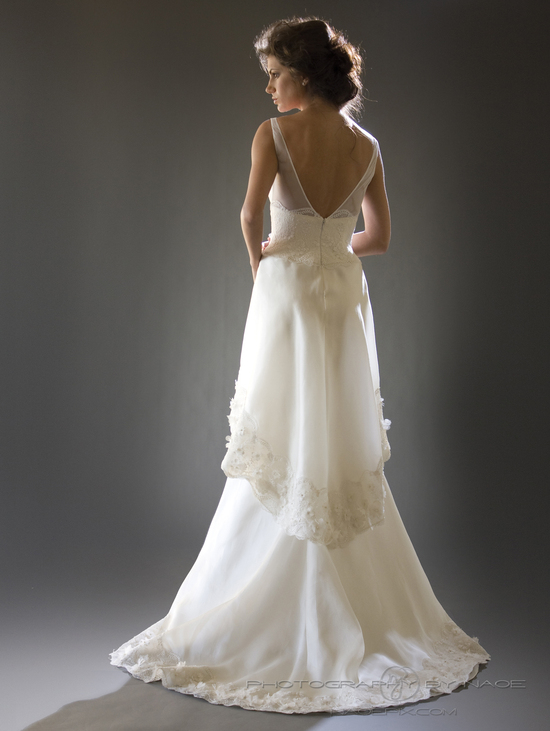 wedding dress spring 2013 bridal gown cocoe voci 7 back