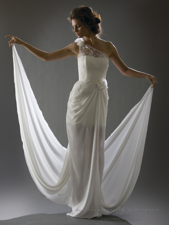 wedding dress spring 2013 bridal gown cocoe voci 9 back side