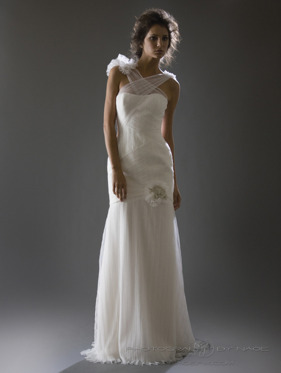 wedding dress spring 2013 bridal gown cocoe voci 10 back