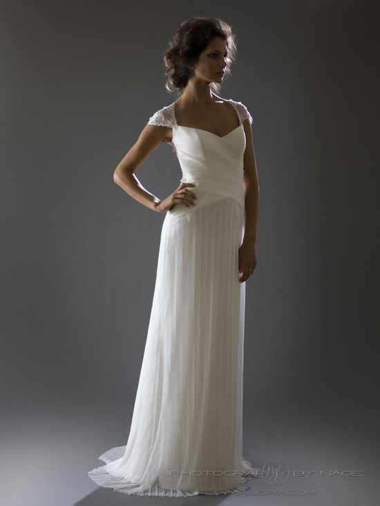 wedding dress spring 2013 bridal gown cocoe voci 11 back