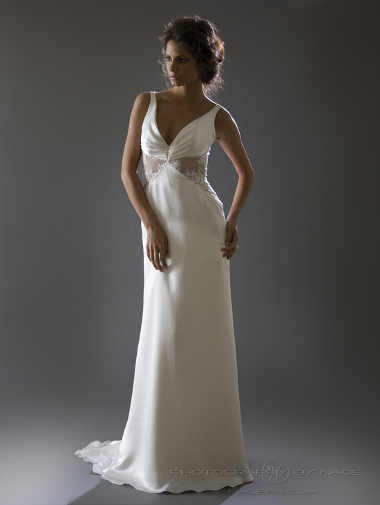wedding dress spring 2013 bridal gown cocoe voci 12 back