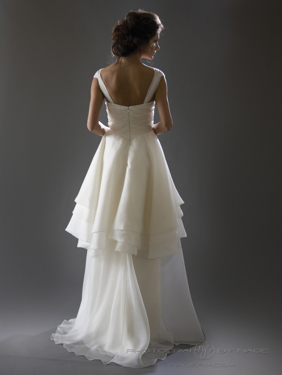 wedding dress spring 2013 bridal gown cocoe voci 13 back