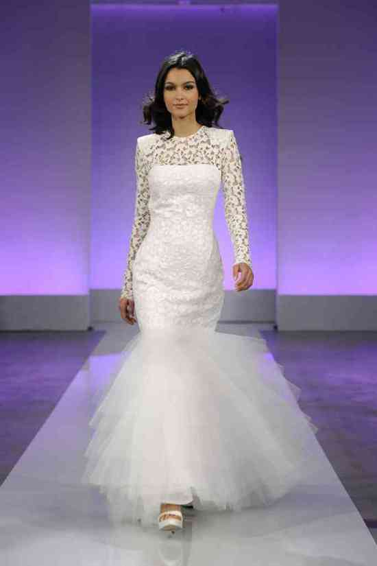 photo of 2013 wedding dress collection first look Cymbeline bridal 2