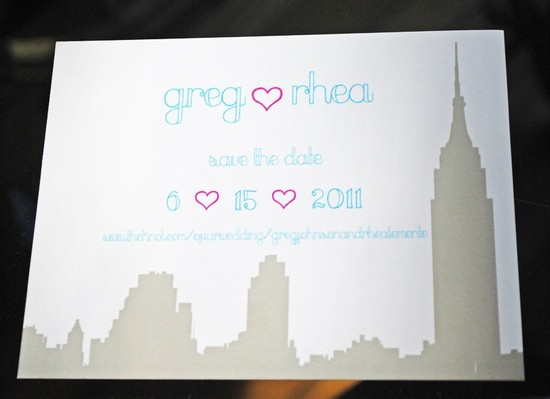 new york wedding inspiration handmade Etsy weddings save the date