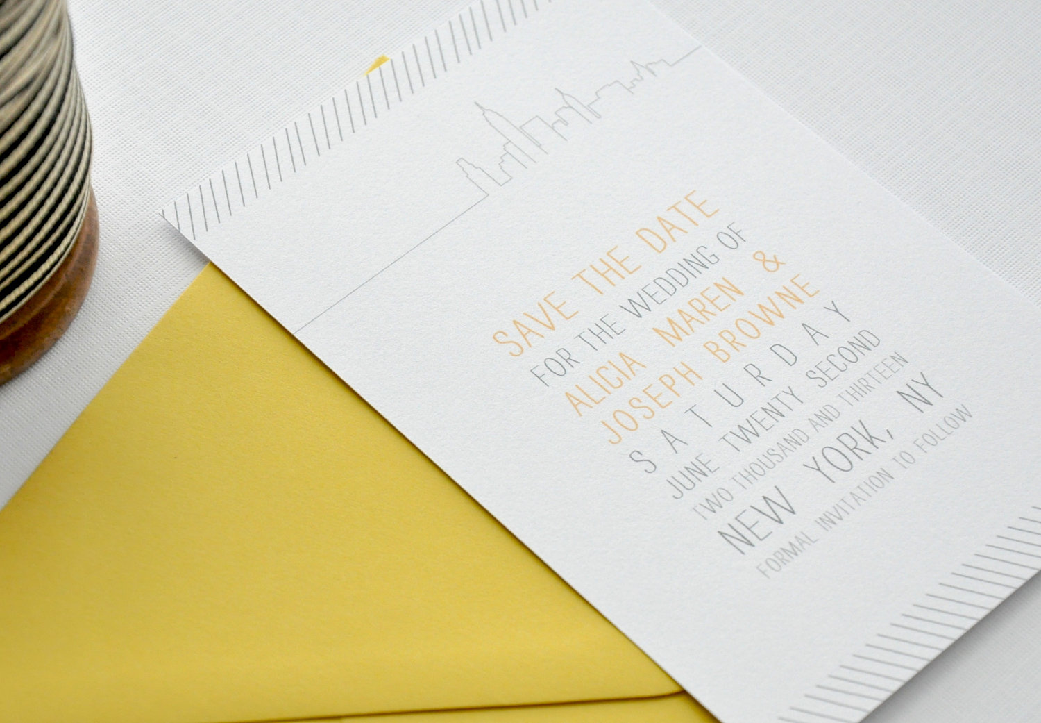 New-york-wedding-inspiration-handmade-etsy-weddings-ecru-gray-yellow-invitations.original