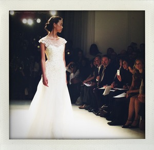 photo of Behind the Scenes in NYC at Bridal Market