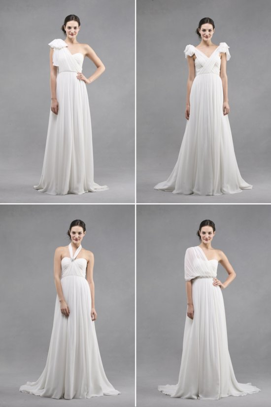 convertible wedding dresses by Jenny Yoo 2013 bridal