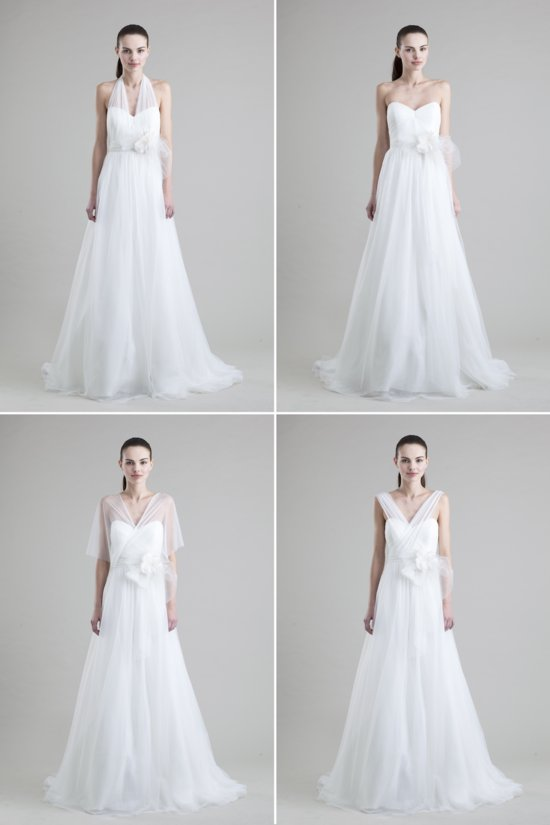 convertible wedding dresses by Jenny Yoo 2013 bridal Hathaway