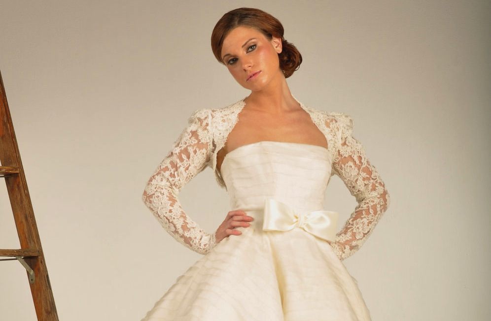 Beautiful bridal boleros to top a simple wedding dress 1 for Simple and beautiful wedding dresses