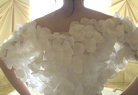 beautiful bridal boleros to top a simple wedding dress petal shrug