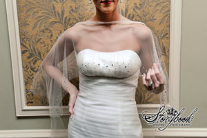 photo of 25 Ways to Top Your Dream Wedding Dress