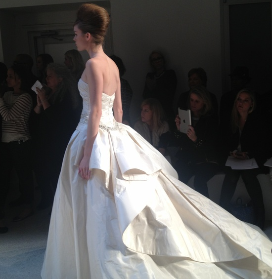 photo of kenneth pool wedding dress spring 2013 bridal queen