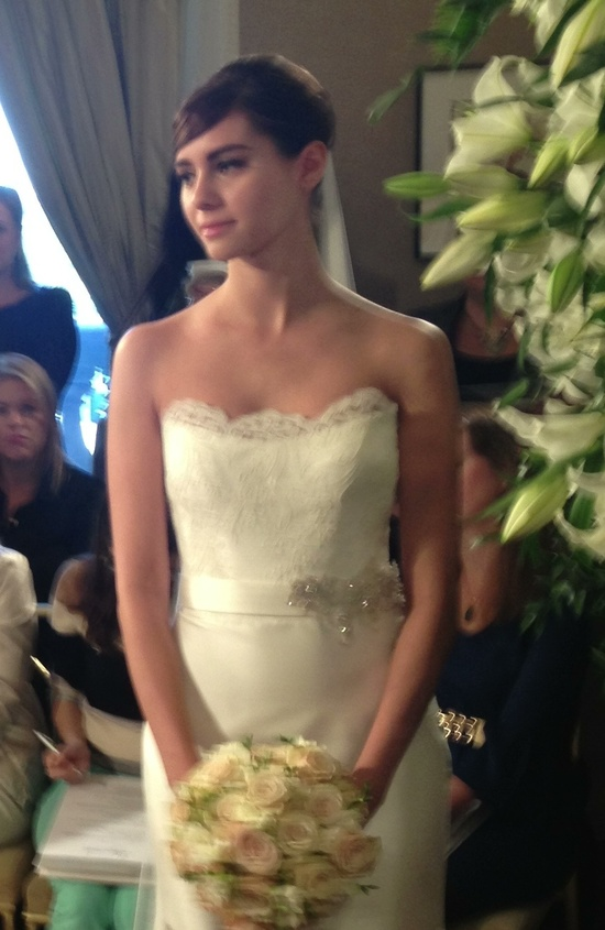 spring 2013 wedding gowns Romona Keveza lace corset