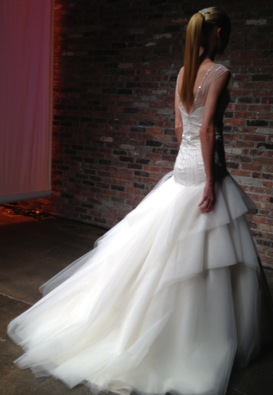 photo of spring 2013 bridal market guess the designer AV 2