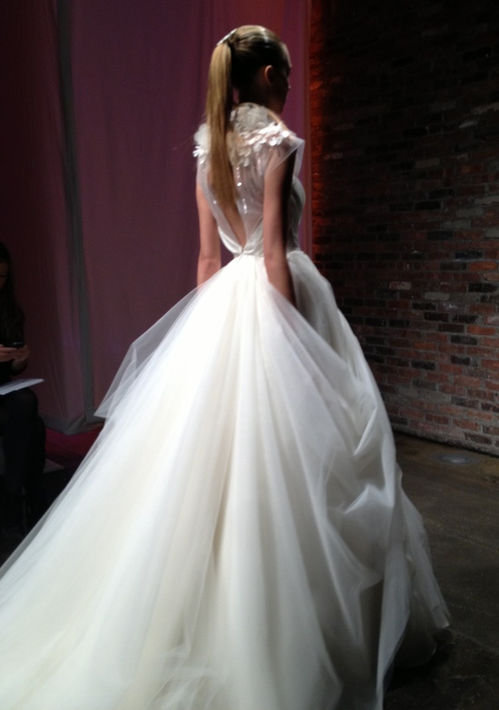 photo of spring 2013 wedding dress alvina valenta 2