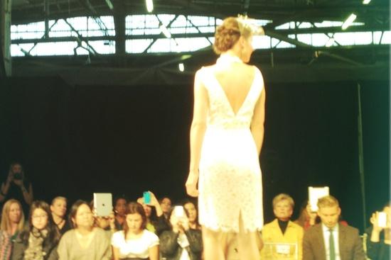 photo of spring 2013 wedding dress Instagram bridal runway photos 9