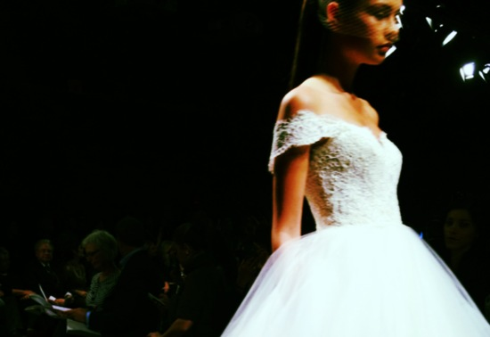 spring 2013 wedding dress bridal runway instagrams 1
