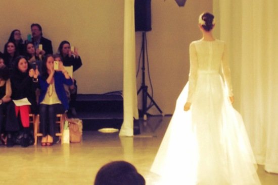 spring 2013 wedding dress bridal runway instagrams 12
