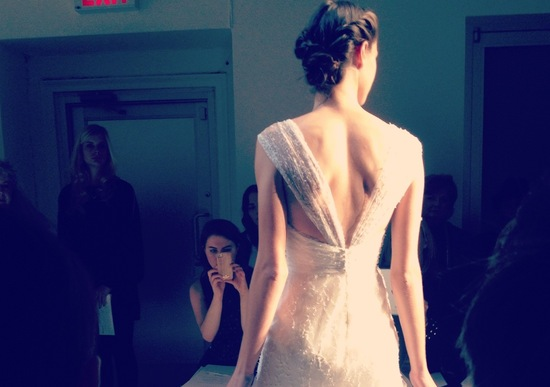 spring 2013 wedding dress bridal runway instagrams 15