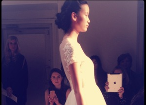 photo of spring 2013 wedding dress bridal runway instagrams 16