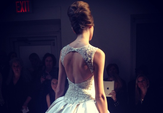 spring 2013 wedding dress bridal runway instagrams 16